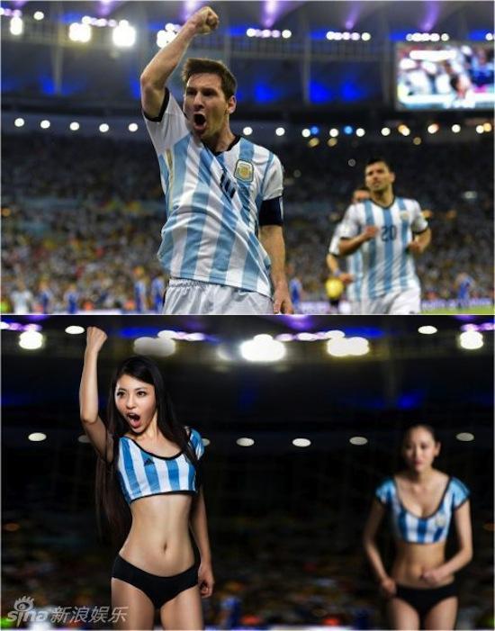 Khi người đẹp tạo dáng giống cầu thủ World Cup My_nha18