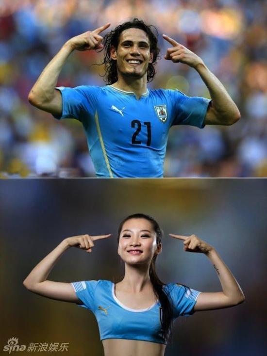 Khi người đẹp tạo dáng giống cầu thủ World Cup My_nha21