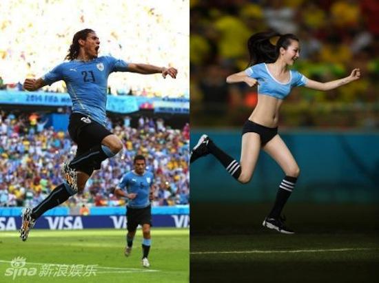 Khi người đẹp tạo dáng giống cầu thủ World Cup My_nha22