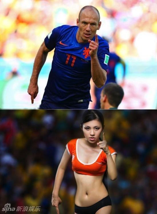 Khi người đẹp tạo dáng giống cầu thủ World Cup My_nha23