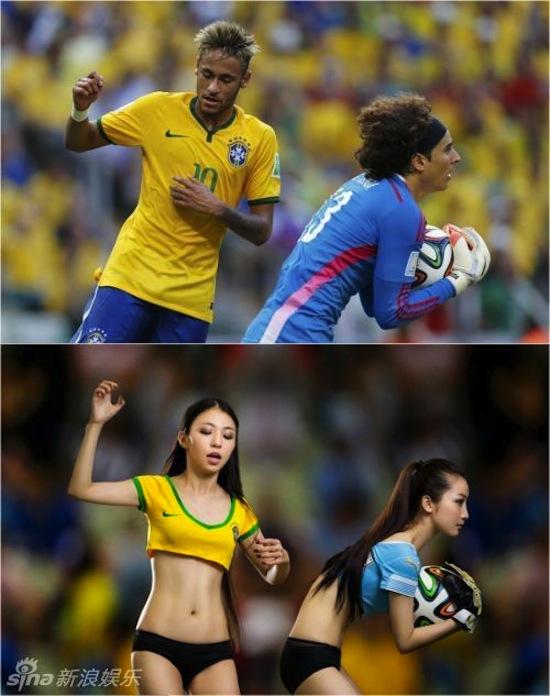 Khi người đẹp tạo dáng giống cầu thủ World Cup My_nha25