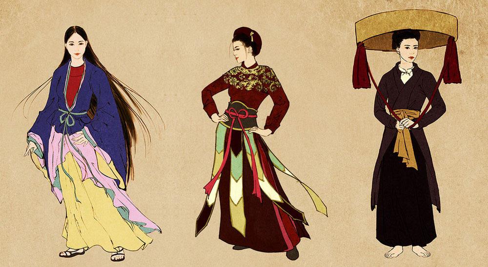 Hình ảnh về trang phục lịch sử Việt Nam Redsvn10
