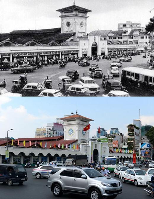 Sài Gòn quyến rũ qua bộ ảnh xưa và nay Sg12-410