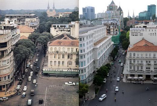 Sài Gòn quyến rũ qua bộ ảnh xưa và nay Sg17-510