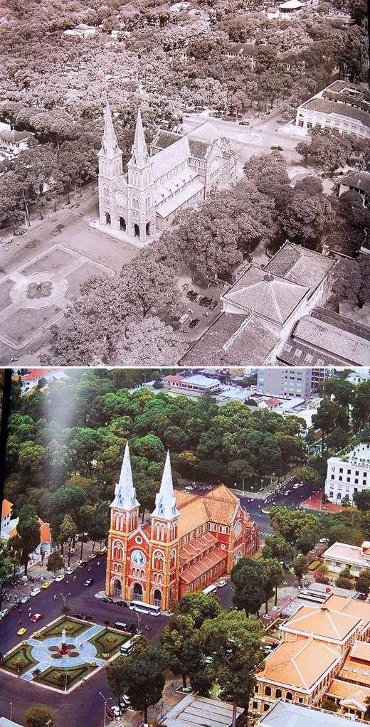 Sài Gòn quyến rũ qua bộ ảnh xưa và nay Sg29-710