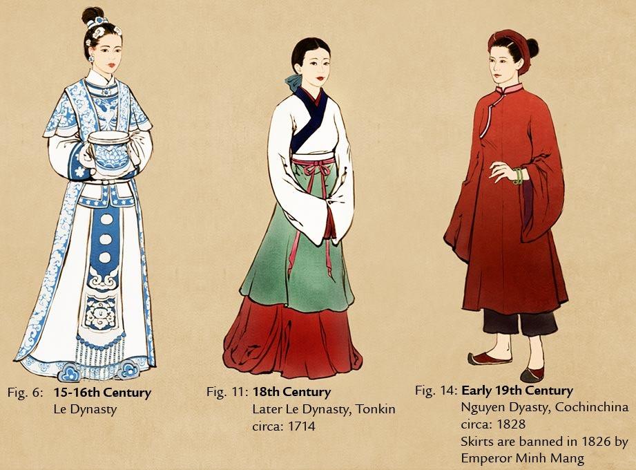 Hình ảnh về trang phục lịch sử Việt Nam Tumblr12