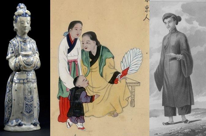 Hình ảnh về trang phục lịch sử Việt Nam Tumblr13