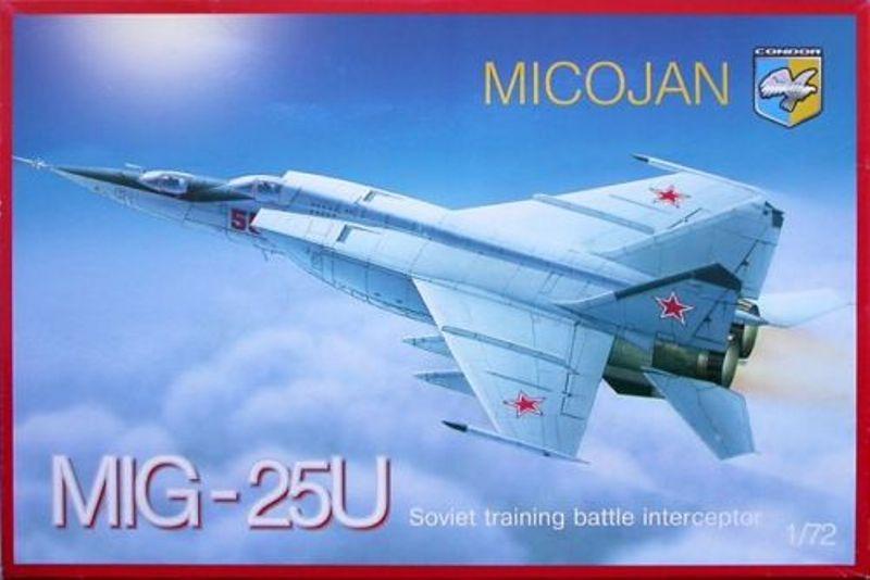 MACH 3 ! - Mikoyan Mig-25PU Foxbat [condor 1/72] Boxart11