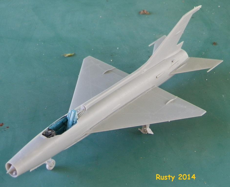 MiG-21F-13 Syrian Air Force 1969  [Trumpeter 1/48] P6010110