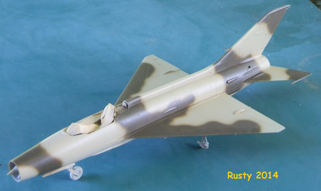 MiG-21F-13 Syrian Air Force 1969  [Trumpeter 1/48] P6010111