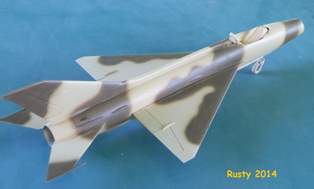 MiG-21F-13 Syrian Air Force 1969  [Trumpeter 1/48] P6010113