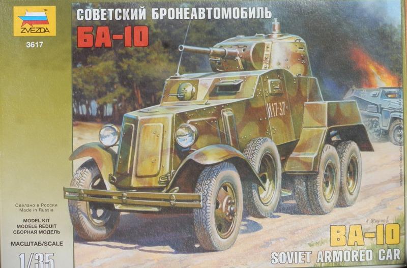 Automitrailleuse Soviétique capturée BA-10 [1/35 ZVEZDA] P6290211