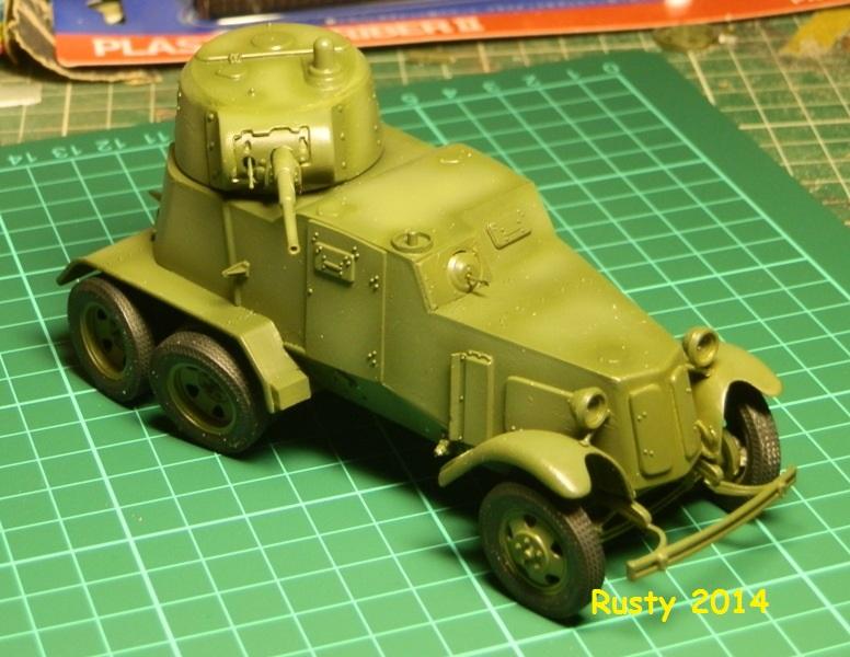 Automitrailleuse Soviétique capturée BA-10 [1/35 ZVEZDA] P6290213