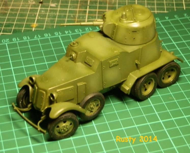 Automitrailleuse Soviétique capturée BA-10 [1/35 ZVEZDA] P6290214