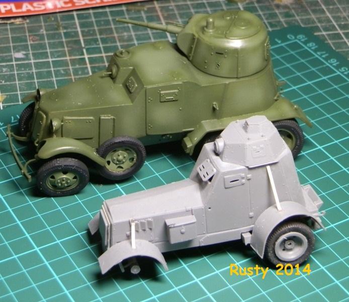 Automitrailleuse Soviétique capturée BA-10 [1/35 ZVEZDA] P6290215