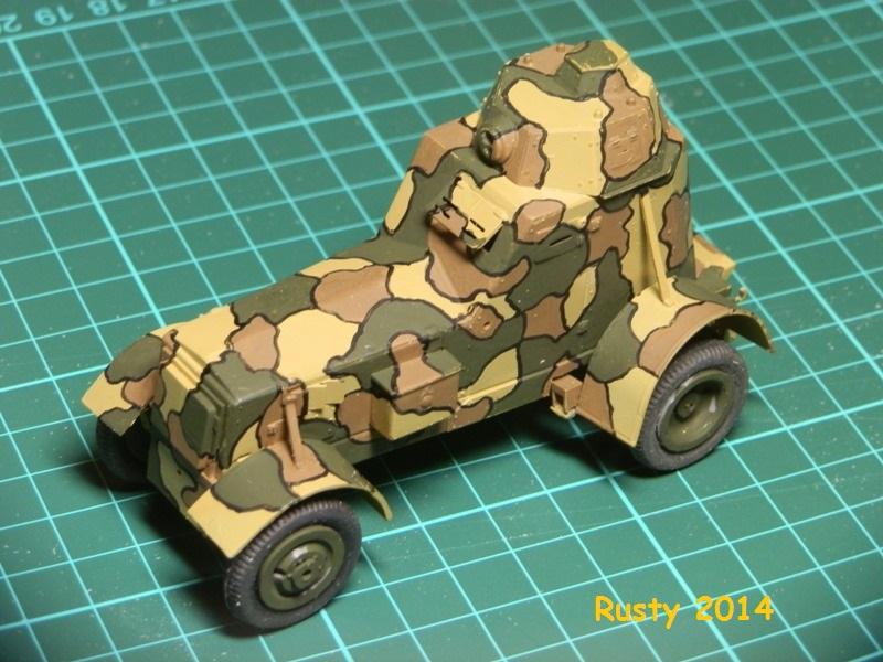 Automitrailleuse Wz-34 / II [Mirage Hobby 1/35] P6290216