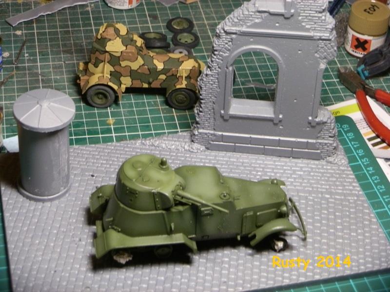 Automitrailleuse Soviétique capturée BA-10 [1/35 ZVEZDA] P6290218