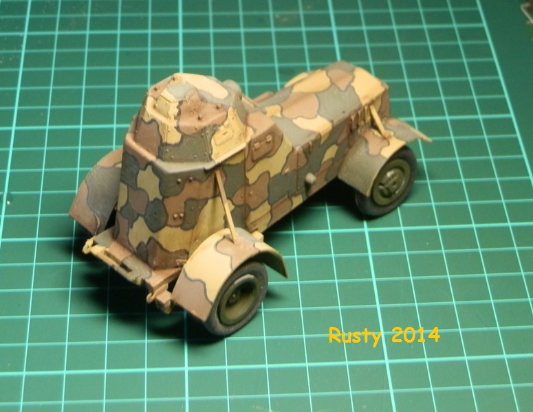 Automitrailleuse Wz-34 / II [Mirage Hobby 1/35] - Page 2 P6300210