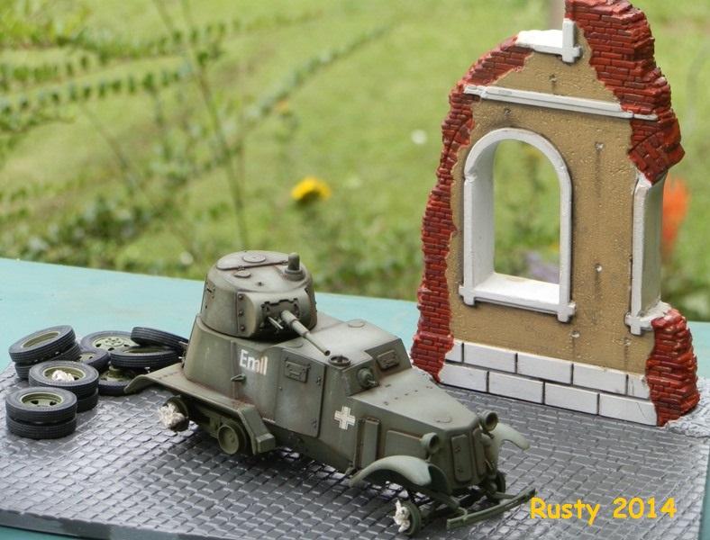 Automitrailleuse Soviétique capturée BA-10 [1/35 ZVEZDA] P7050210