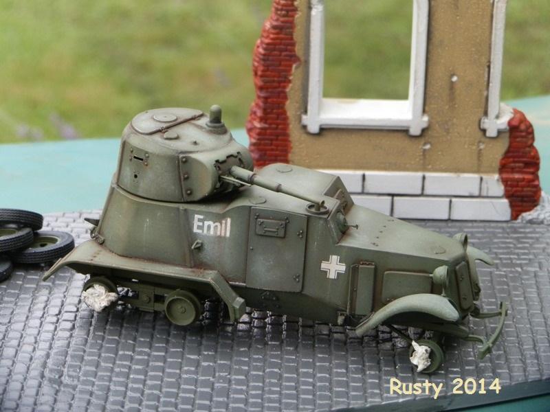 Automitrailleuse Soviétique capturée BA-10 [1/35 ZVEZDA] P7050211