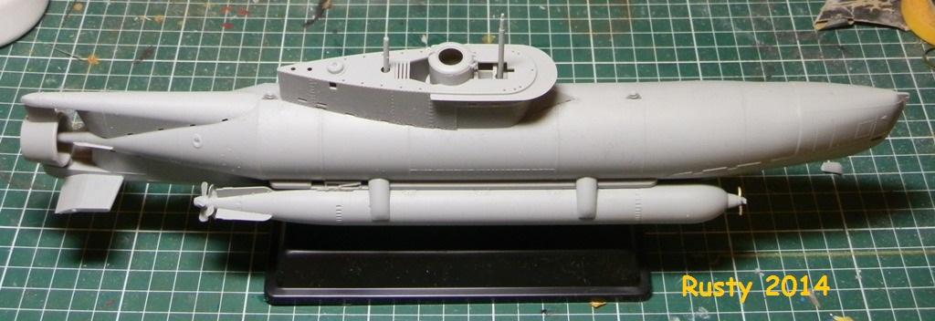 U-BOOT Typ XXVIIB SEEHUND [1/35 BRONCO] P7110211