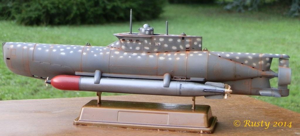 U-BOOT Typ XXVIIB SEEHUND [1/35 BRONCO] - Page 2 P7190210