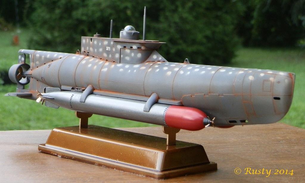 U-BOOT Typ XXVIIB SEEHUND [1/35 BRONCO] - Page 2 P7190212