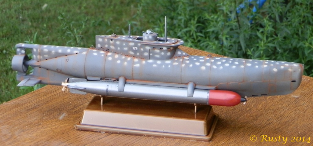U-BOOT Typ XXVIIB SEEHUND [1/35 BRONCO] - Page 2 P7190213