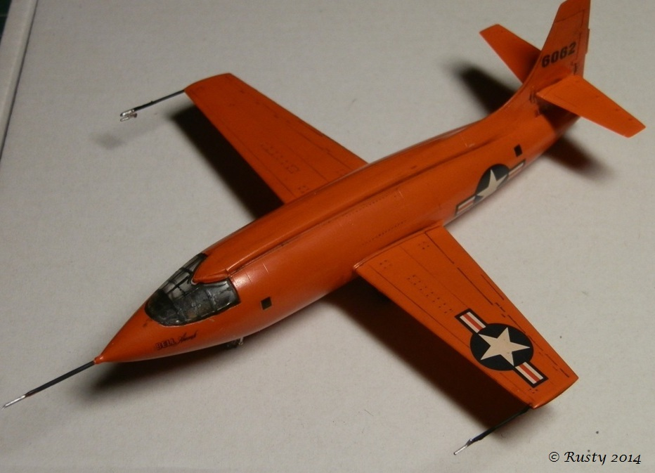 Breaking the sound barrier - Bell X-1 [Tamiya 1/72] P8140310