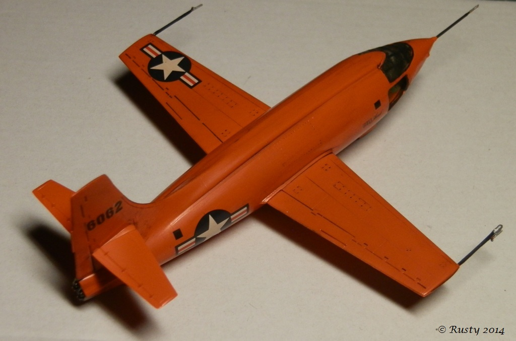 Breaking the sound barrier - Bell X-1 [Tamiya 1/72] P8140312