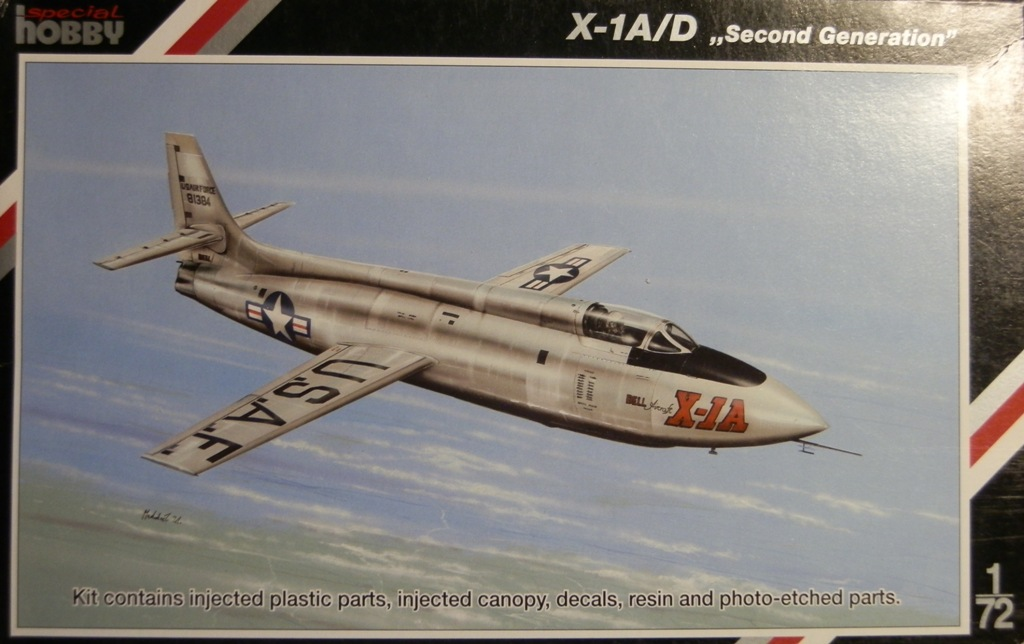 Breaking twice the sound barrier - Bell X-1A [1/72 Special Hobby] P8150310