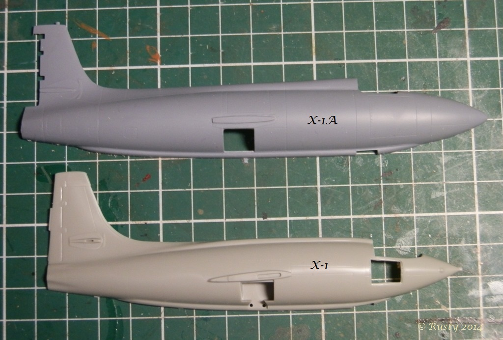 Breaking twice the sound barrier - Bell X-1A [1/72 Special Hobby] P8150311