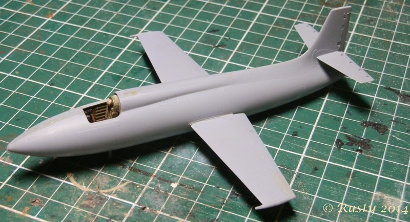 Breaking twice the sound barrier - Bell X-1A [1/72 Special Hobby] P8150315