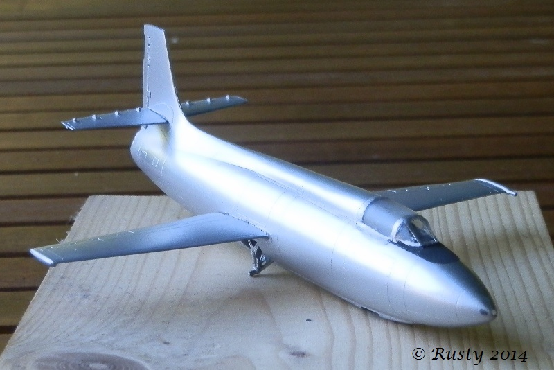 Breaking twice the sound barrier - Bell X-1A [1/72 Special Hobby] P8160312