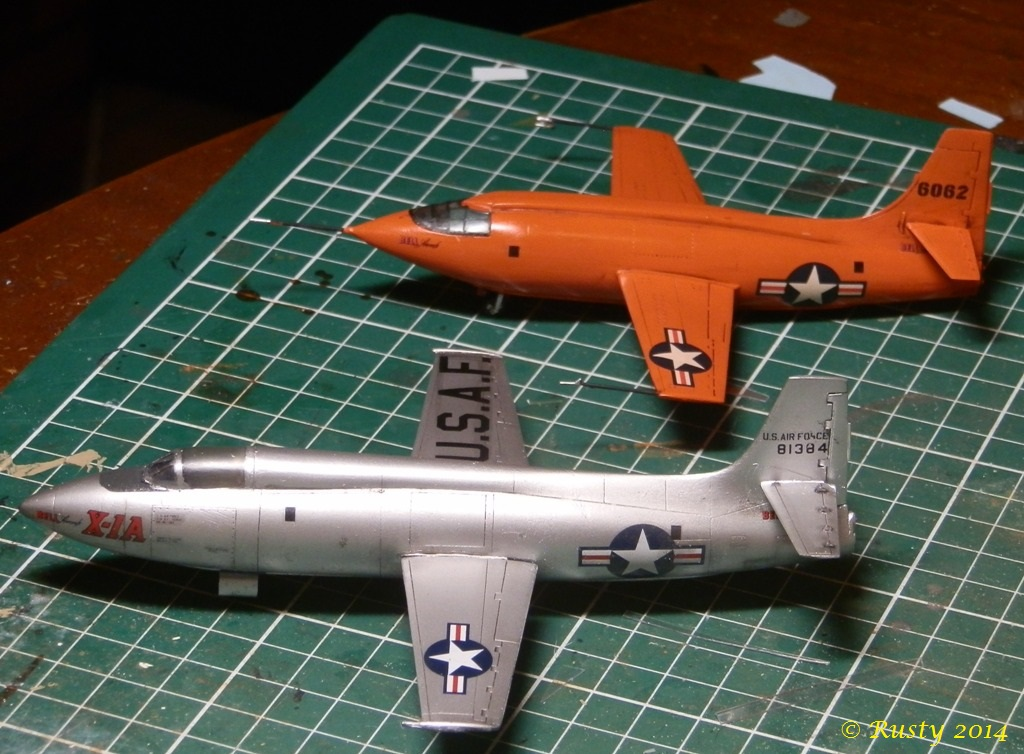 Breaking twice the sound barrier - Bell X-1A [1/72 Special Hobby] P8220310