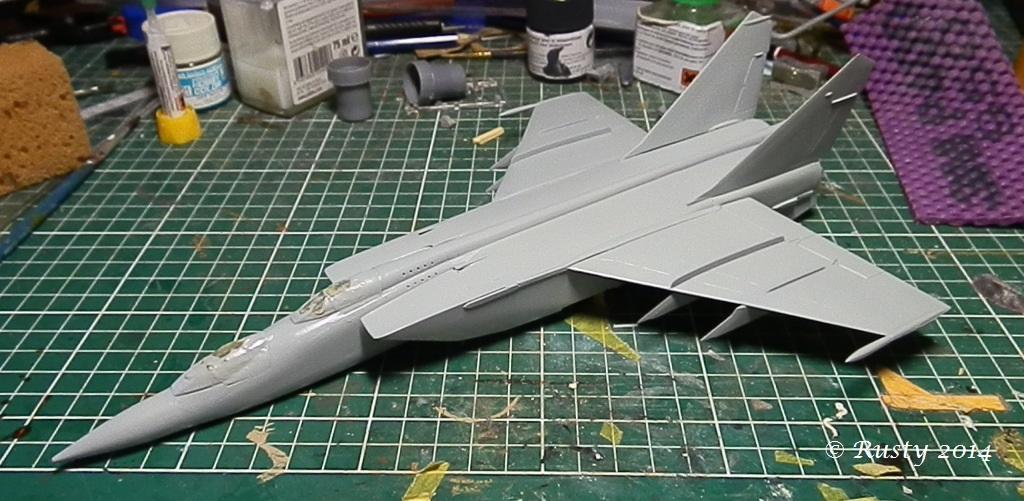 MACH 3 ! - Mikoyan Mig-25PU Foxbat [condor 1/72] P9070915