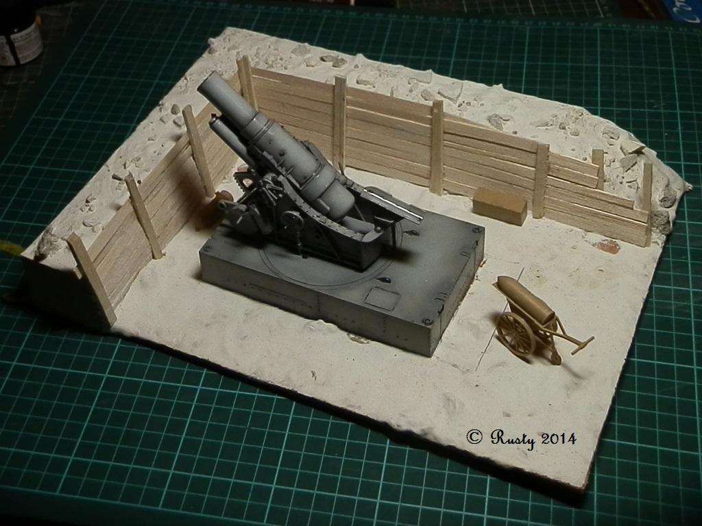 Obusier de 305mm Modèle 1916 Skoda [Takom 1/35] Pc131010