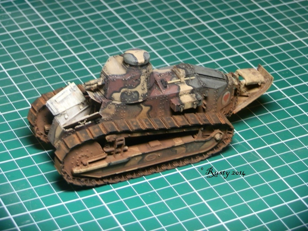 Char Renault FT tourelle hexagonale [Meng 1/35] Pc261110