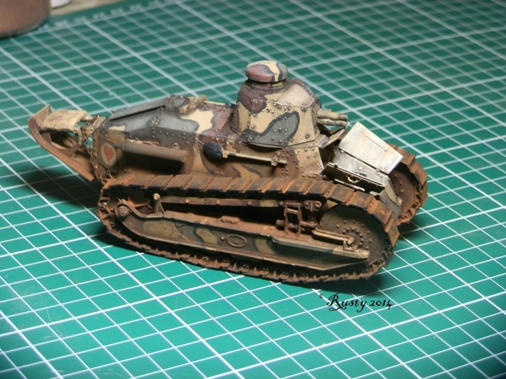 Char Renault FT tourelle hexagonale [Meng 1/35] Pc261111