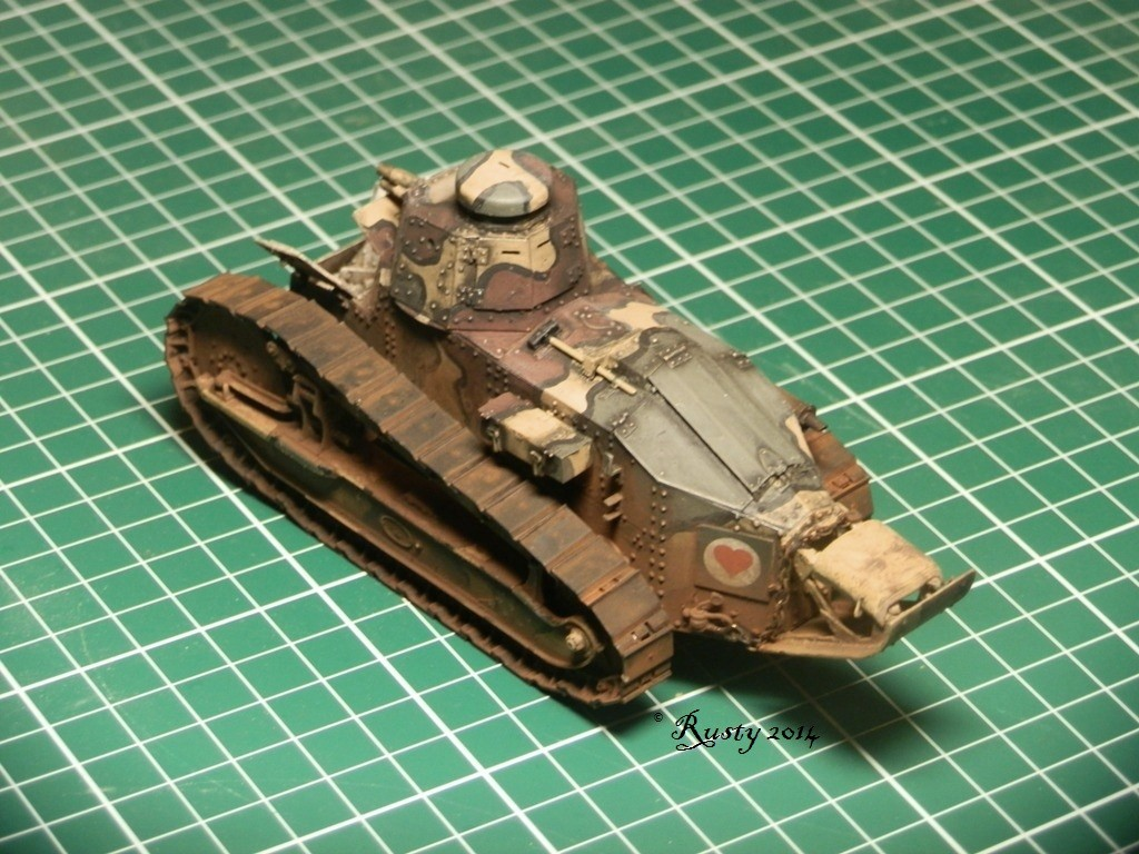 Char Renault FT tourelle hexagonale [Meng 1/35] Pc261112