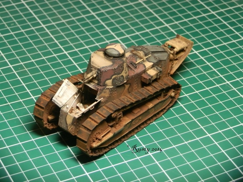 Char Renault FT tourelle hexagonale [Meng 1/35] Pc261113