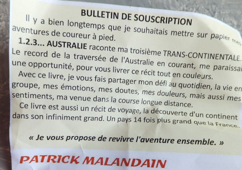 Patrick malandain et la  troisiéme tran-scontinentale Dscf8612