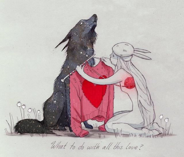 Femme qui court avec les loups, de Clarissa Pinkola Estés (livre) Loupco10
