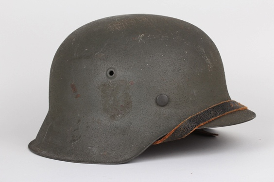 Waffen-SS M42 ex single decal helmet - hkp64 Ex_hel10