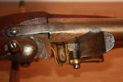 Fusil à silex, 1777 révolutionnaire. _0000210
