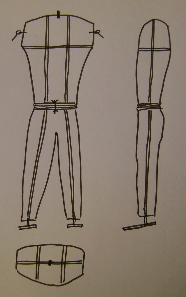 Fabriquer un mannequin en bois pour quelques euros. Dsc07821