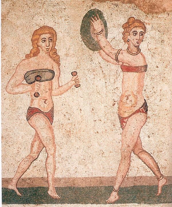 Quand les romaines étaient en bikini. Photol10