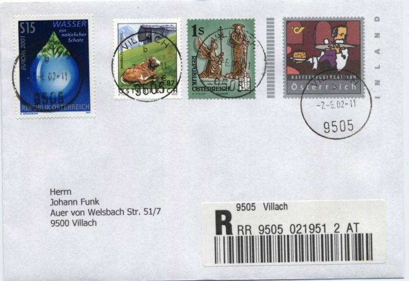 Bonusbriefe der österreichischen Post Bonusb10