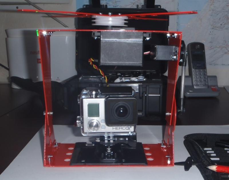 Tyrolienne sur corde 13 mm auto-freinée par radiocommande pour GoPro Gopro_14