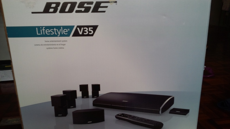 Bose Lifestyle V35 Home Theatre System (used) V3510